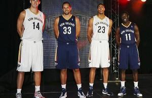 Nuova divisa New Orleans Pelicans - © 2013 nba.com