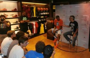 Kevin Durant a Milano. Foto Fumagalli/Basketcaffe.com