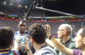 Thaddeus Young in Manchester © Basketcaffe.com