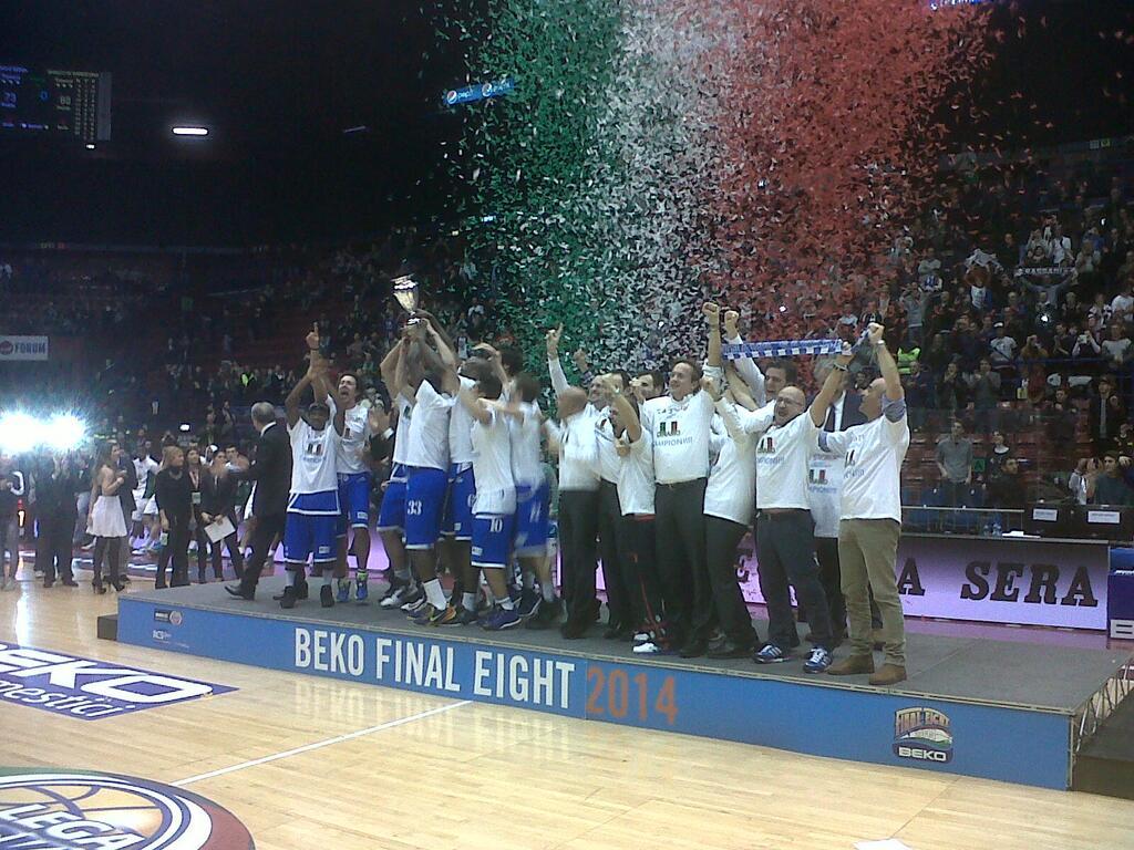 Premiazione_DinamoSassari - © Davide Fumagalli - Basketcaffe.com