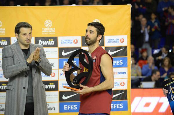 Juan Carlos Navarro - © Twitter Euroleague