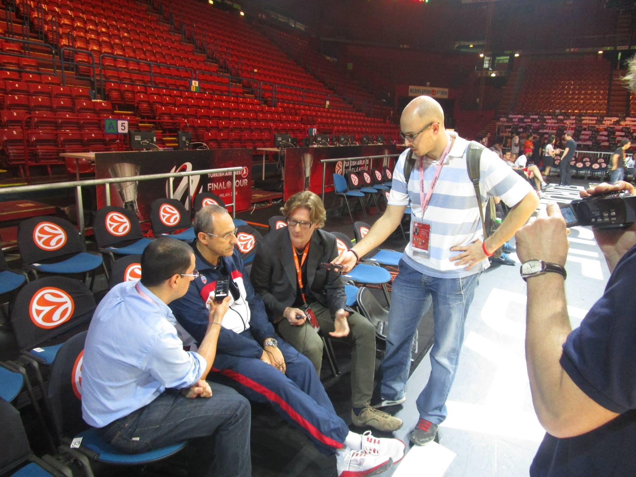 Intervista ad Ettore Messina - © 2014 Basketcaffe.com