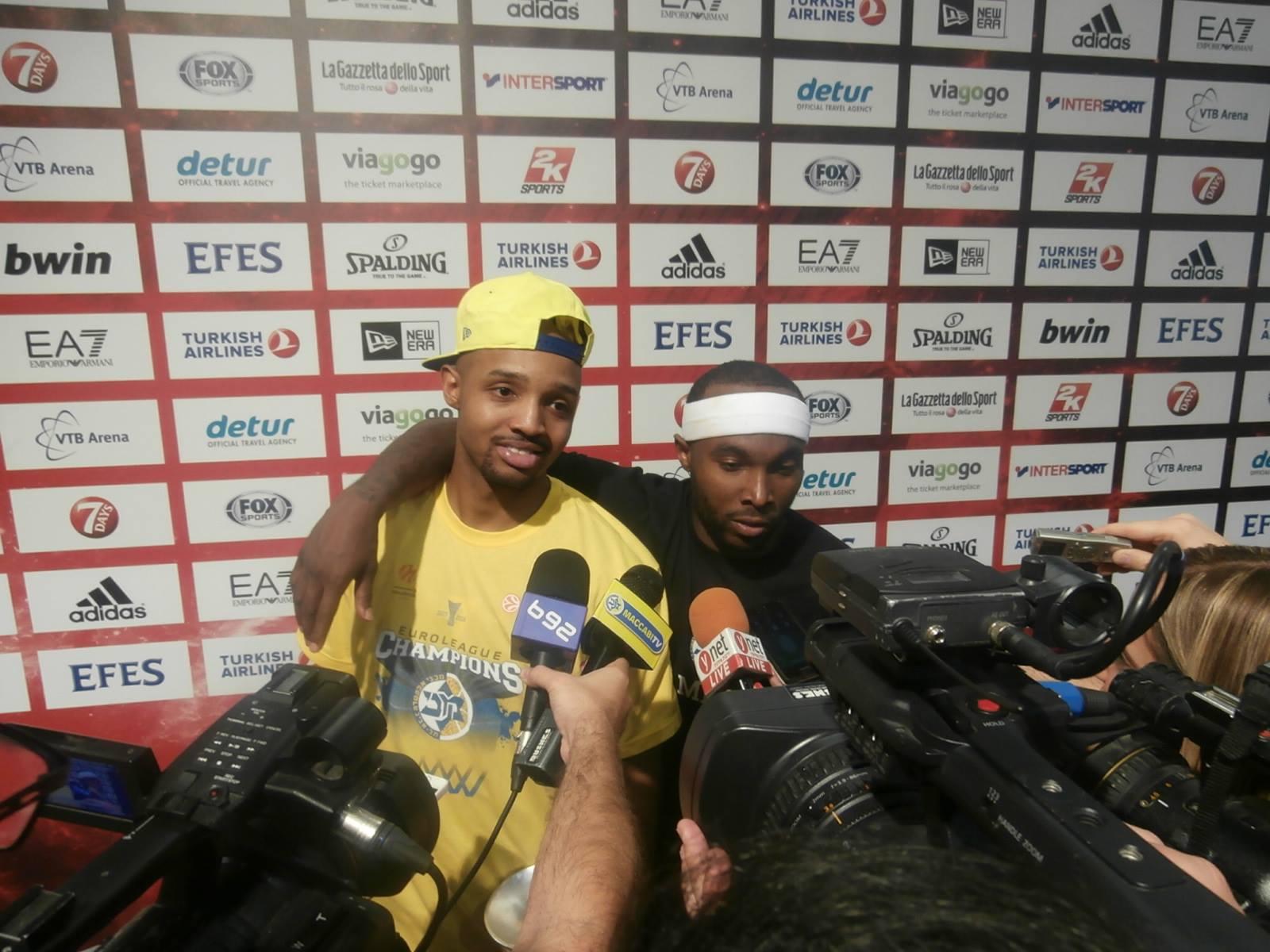 Tyrese Rice, Maccabi Tel Aviv - © 2014 Basketcaffe.com