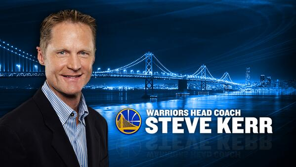 Steve Kerr_Warriors - © 2014 twitter.com/warriors