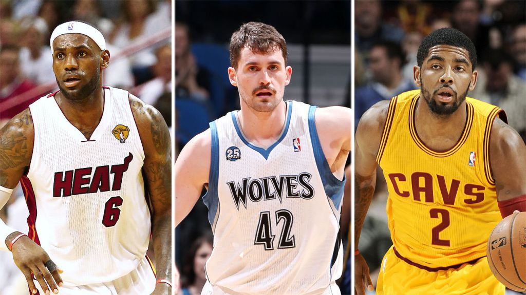 I nuovi Big Three dei Cleveland Cavaliers