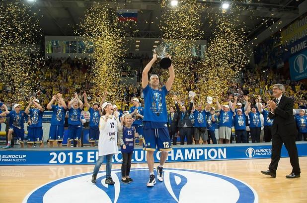 Khimki Mosca vince Eurocup 2014-15 - © 2015 twitter.com/eurocup