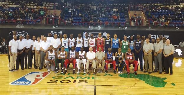 NBA Africa Game 2015 - © 2015 twitter.com/NBA