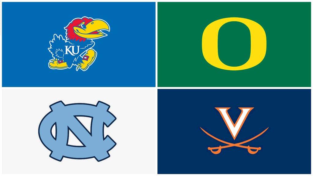 One Seed NCAA - © 2016 twitter/espncbb