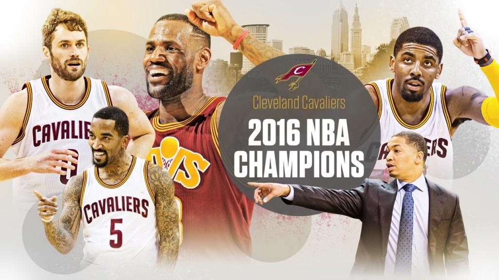 Cavaliers campioni NBA 2016 - © 2016 twitter/espnstats