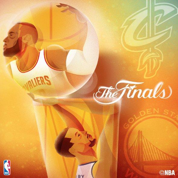 Finals NBA 2016 - © 2016 twitter/NBA