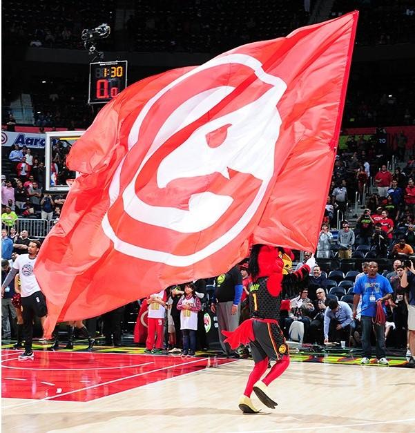 Atlanta Hawks - © 2016 twitter.com/ATLHawks