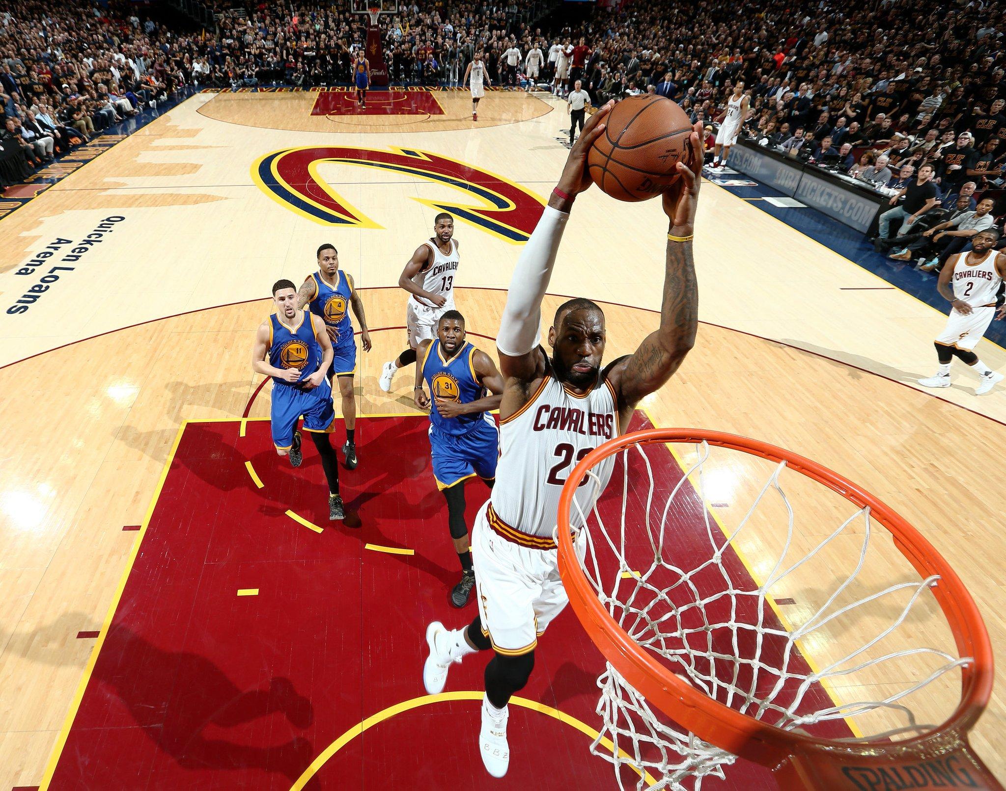 LeBron James - © twitter.com/nbastats
