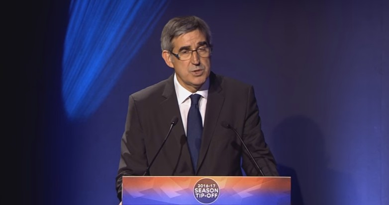 Jordi Bertomeu,   CEO Euroleague - © stopframe Youtube