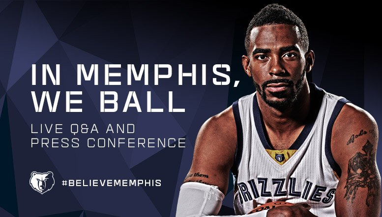 Mike Conley - © 2016 twitter.com/memgrizz