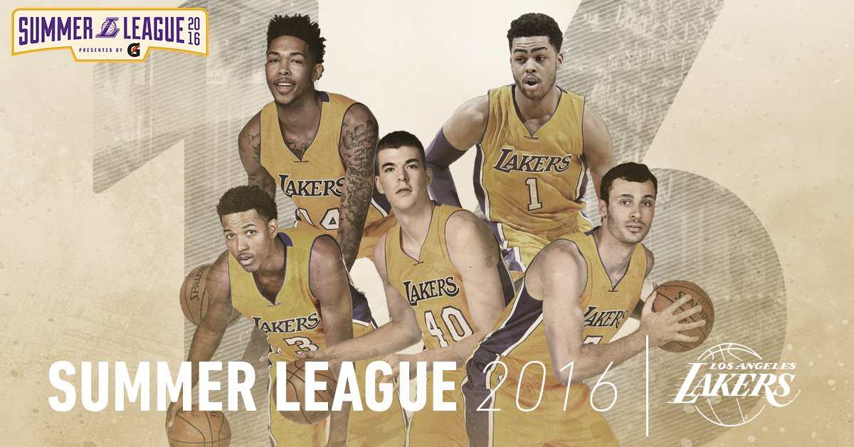 Lakers Summer League - © 2016 twitter.com/Lakers