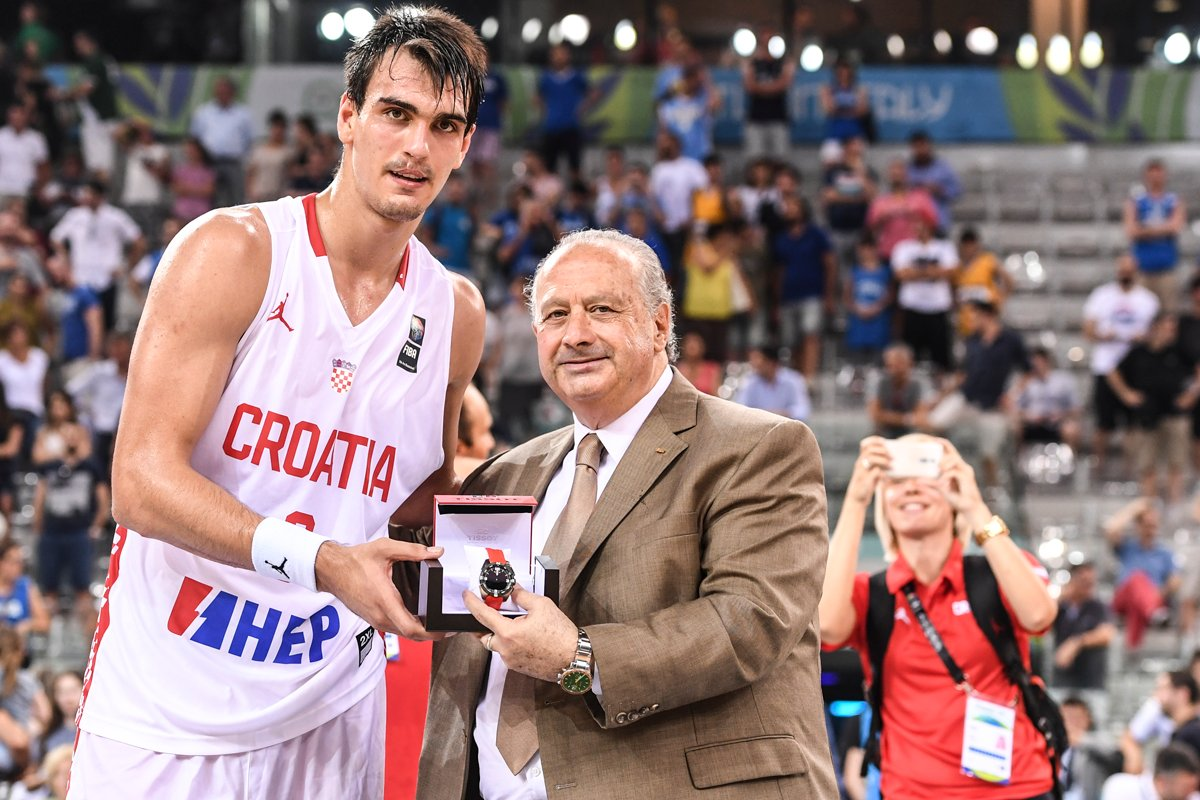 Dario Saric - © 2016 twitter.com/FIBA