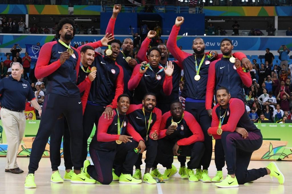 Team USA oro a Rio 2016 - © 2016 twitter.com/USABasketball