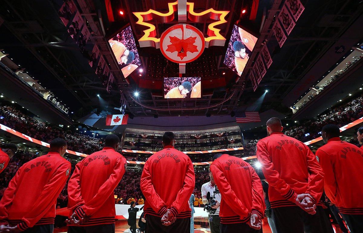 Toronto Raptors - © 2016 facebook.com/Raptors