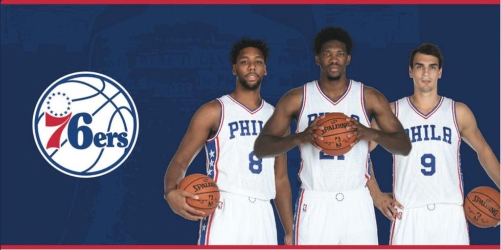 Philadelphia 76ers - © 2016 twitter.com/76ers