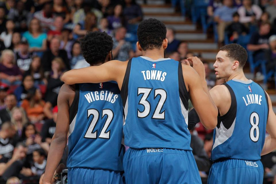 Minnesota Timberwolves - © 2016 facebook.com/MNTimberwolves
