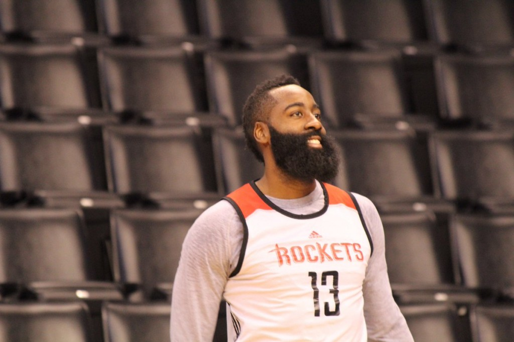 James Harden © twitter HoustonRockets