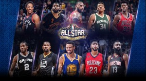 All-Star starters - © 2017 nba.com
