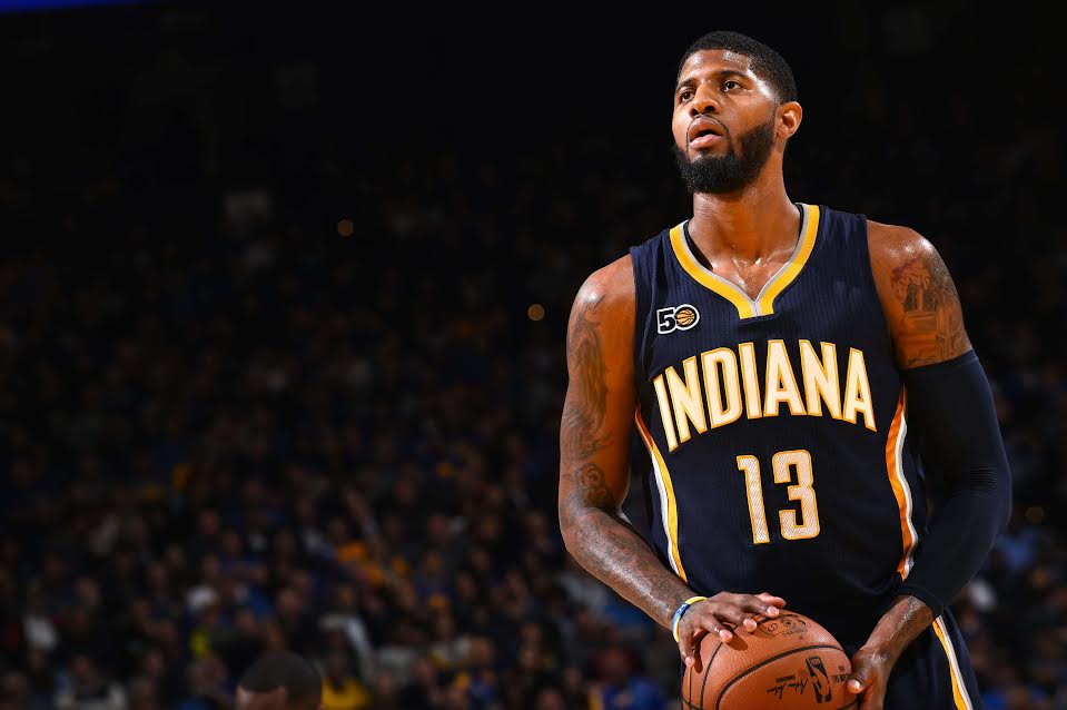 Paul George © 2016 NBAE / Getty Images