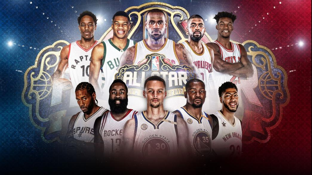 NBA All Star Game – © 2017 twitter.com/NBAAllStar