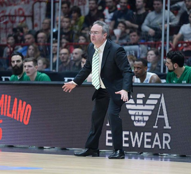 Coach Pino Sacripanti, Sidigas Avellino - © 2016 Simone Lucarelli