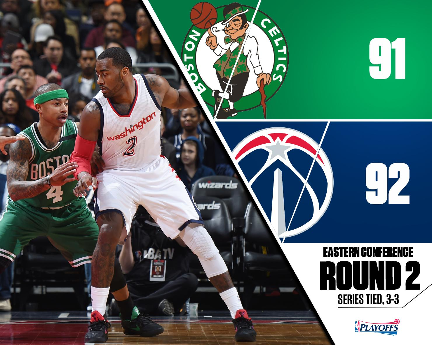Wizards-Celtics gara 6 - © 2017 twitter.com/SportsCenter