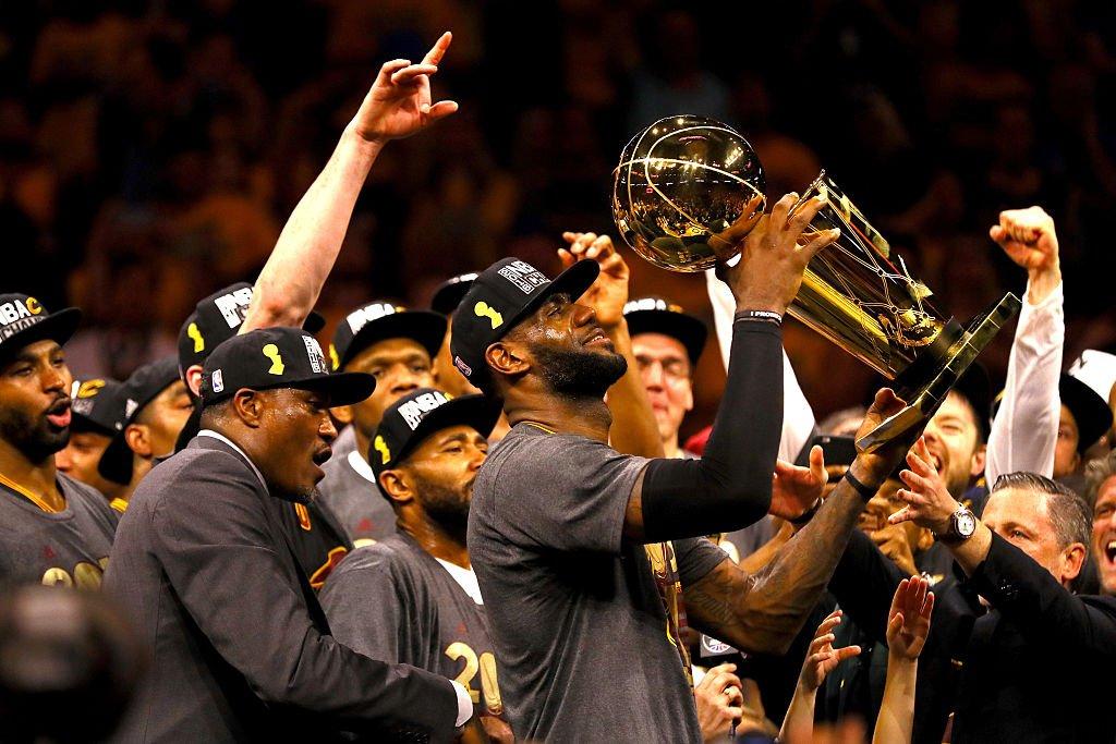 LeBron James - © 2017 twitter.com/NBA