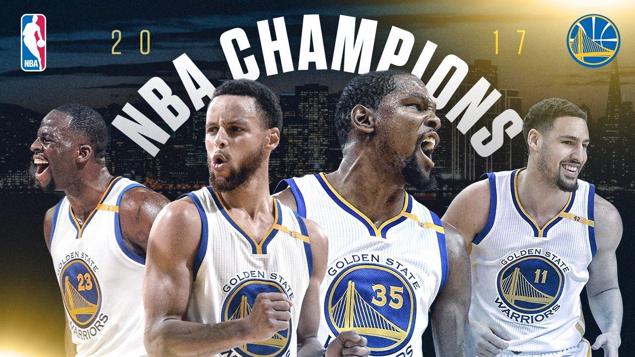 Golden State Warriors, gara 5 - © 2017 twitter.com/nbastats