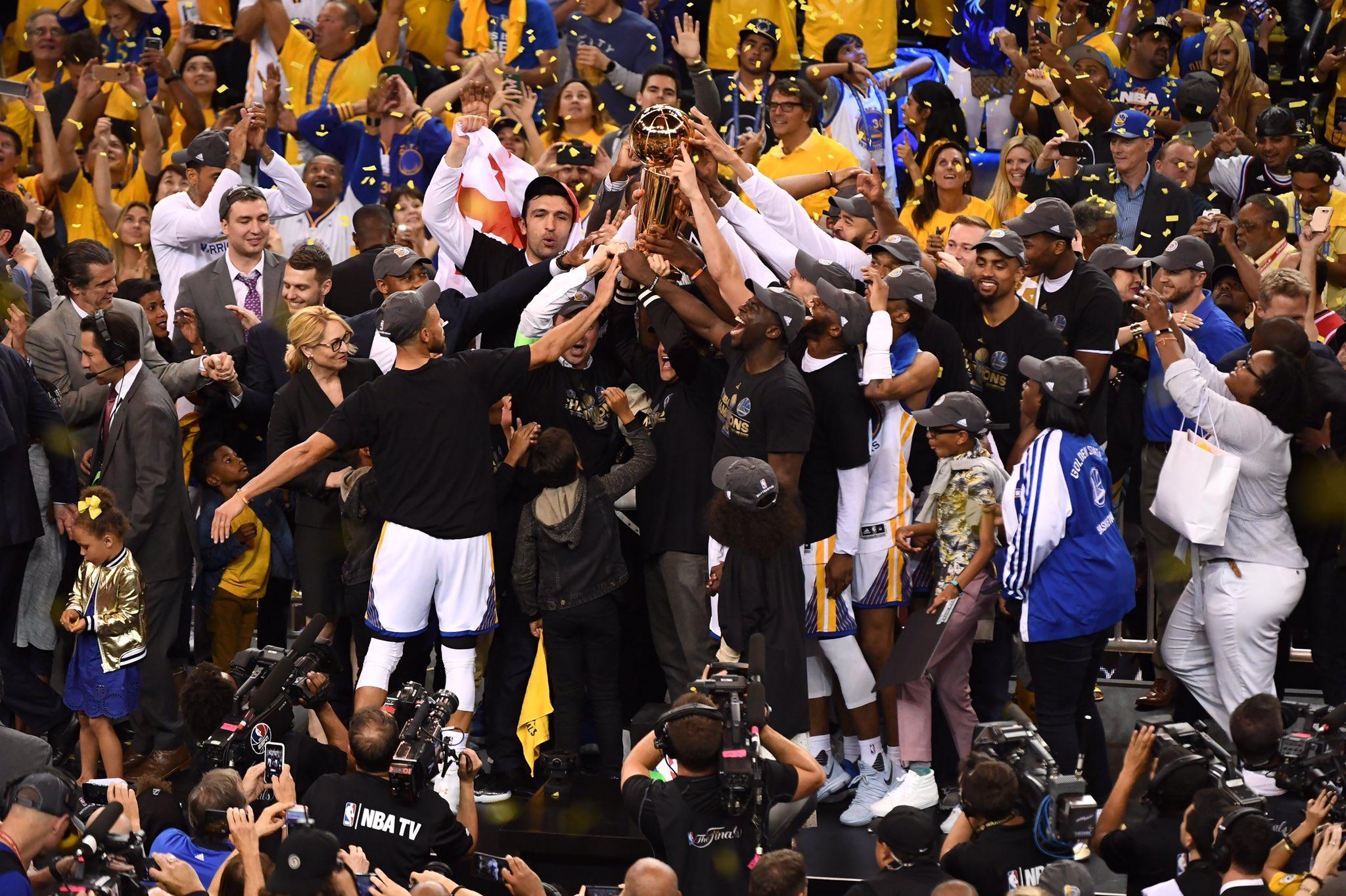 Golden State Warriors, gara 5 - © 2017 twitter.com/goldenstatewarriors