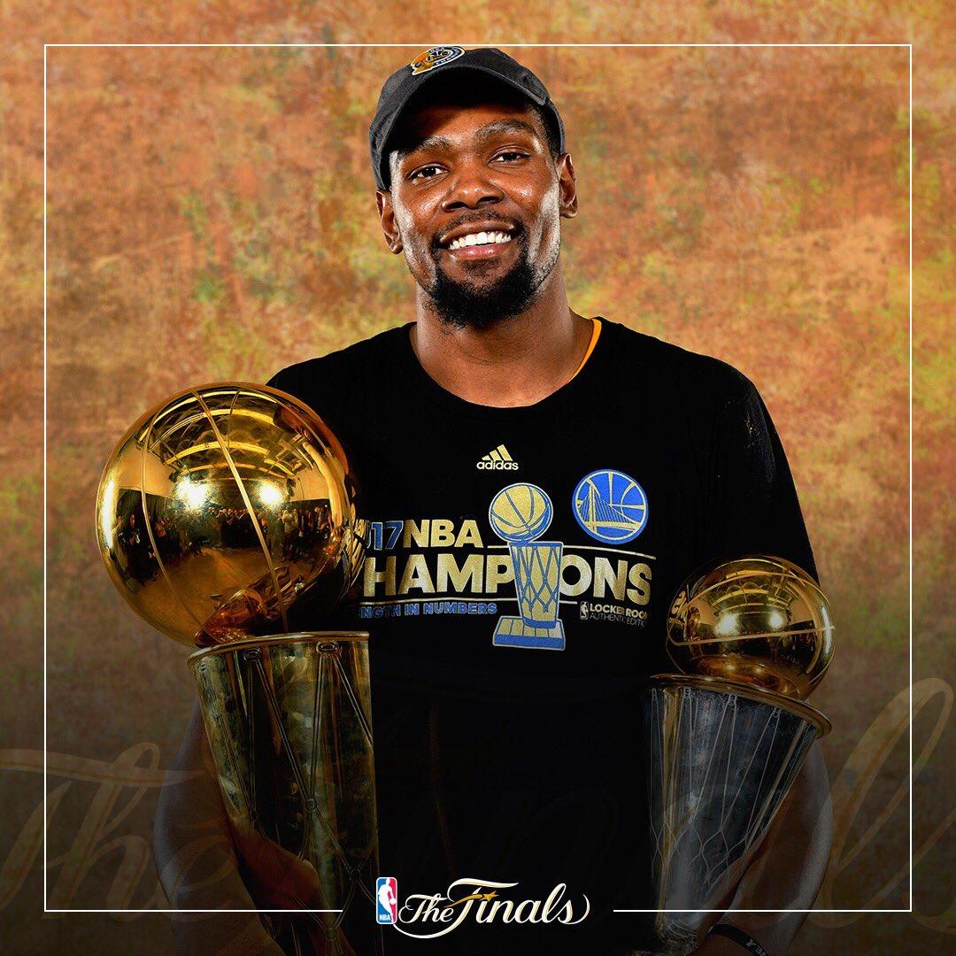 Kevin Durant - © 2017 twitter.com/NBA
