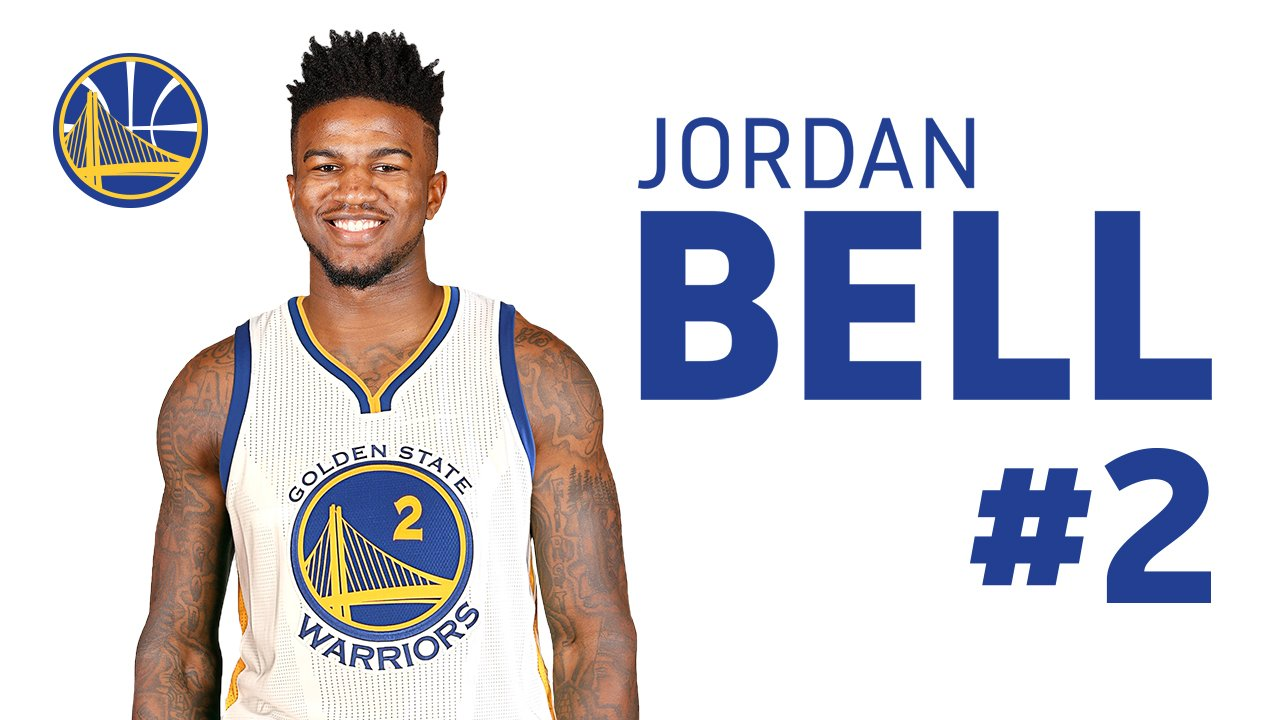 Jordan Bell - © 2017 twitter.com/warriors