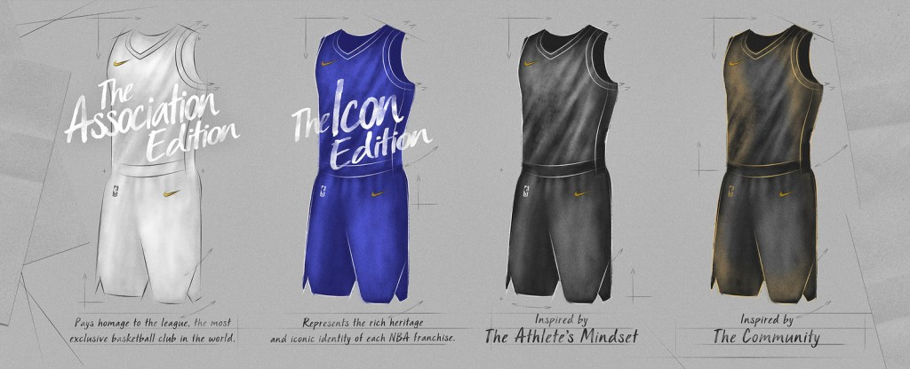 Uniformi NBA 2017-18 © 2017 Nike