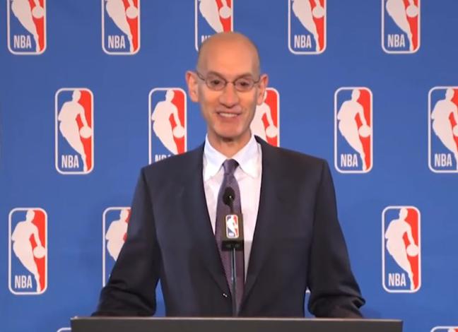 Adam Silver, Commissioner NBA - Stopframe Youtube