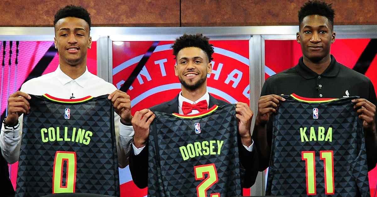 Hawks Draft Picks - © 2017 twitter.com/ATLHawks
