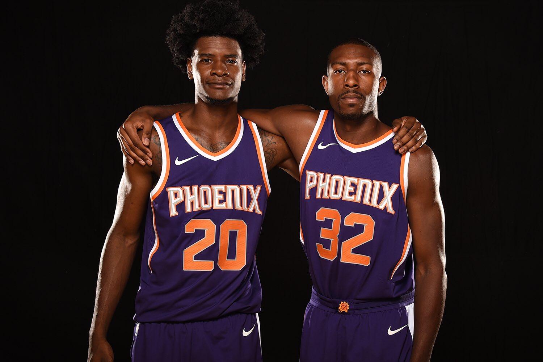 Josh Jackson & Davon Reed - © 2017 twitter.com/Suns