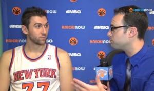 Bargnani @ Knicks Media Day
