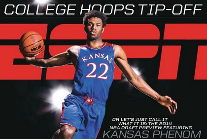 Andrew Wiggins. Cover Espn