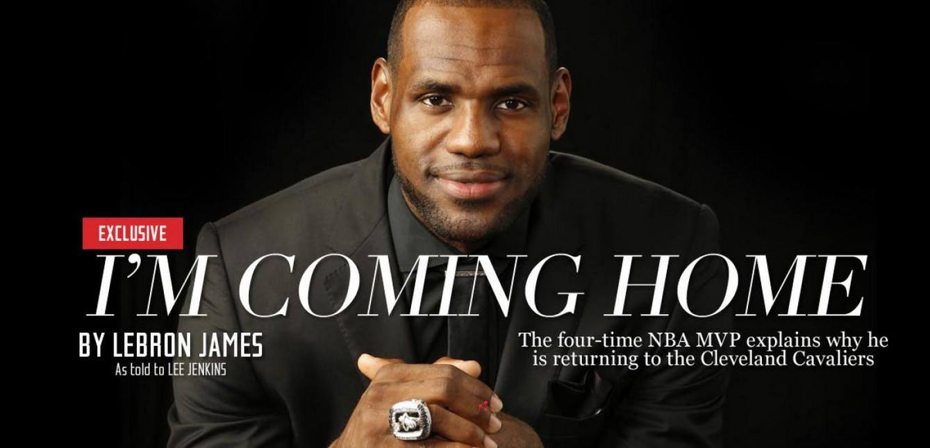 LeBron James torna ai Cavaliers