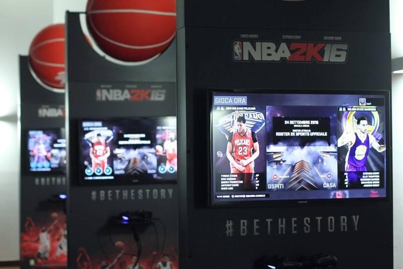 Presentazione NBA 2K16