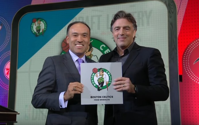 I Celtics vincono NBA Lottery 2017 - Stopframe Youtube