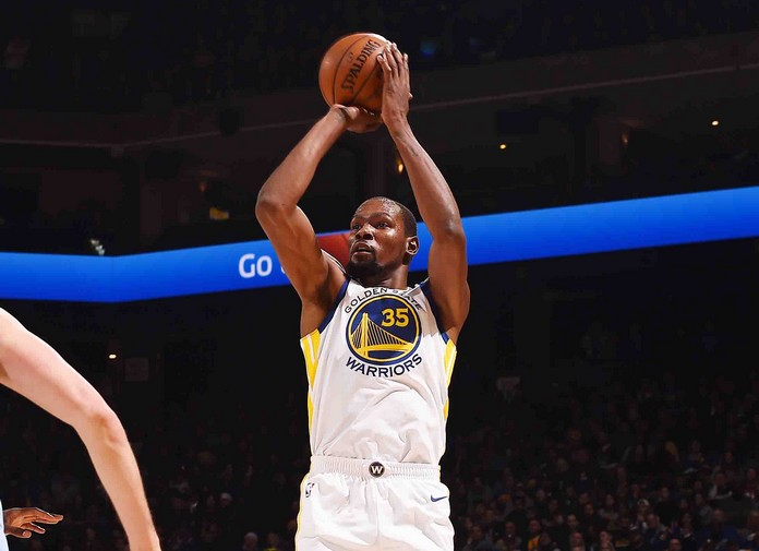 Kevin Durant, Golden State Warriors – © 2017 NBAE (Photo by Noah Graham/NBAE via Getty Images)